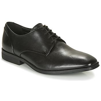 Cipők Férfi Oxford cipők Clarks GILMAN PLAIN Fekete