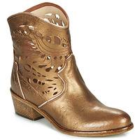 Cipők Női Bokacsizmák Fru.it  Bronz