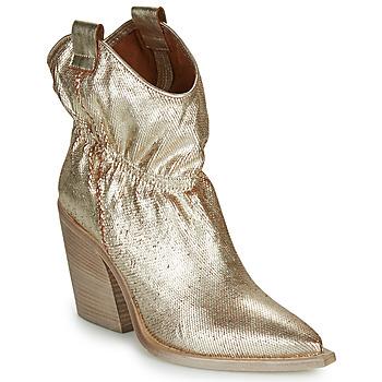 Cipők Női Bokacsizmák Fru.it  Arany