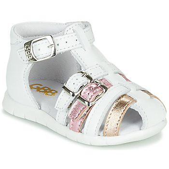 Cipők Lány Szandálok / Saruk GBB PERLE Fehér