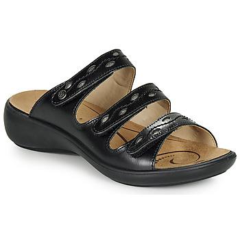 Cipők Női Papucsok Romika IBIZA 66 Fekete