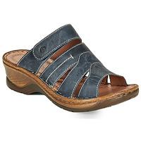 Cipők Női Papucsok Josef Seibel CATALONIA 49 Kék