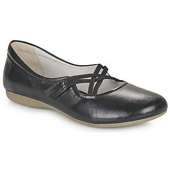 Cipők Női Balerina cipők  Josef Seibel FIONA 39 Fekete