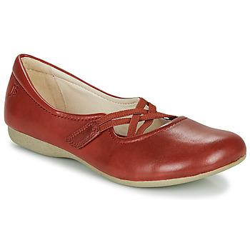 Cipők Női Balerina cipők  Josef Seibel FIONA 41 Piros
