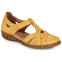 Cipők Női Szandálok / Saruk Josef Seibel ROSALIE 29 Citromsárga