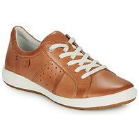 Cipők Női Rövid szárú edzőcipők Josef Seibel CAREN 01 Teve