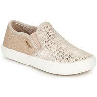 Cipők Lány Belebújós cipők Geox J KILWI GIRL Bézs