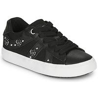Cipők Lány Rövid szárú edzőcipők Geox J KILWI GIRL Fekete