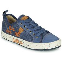 Cipők Fiú Rövid szárú edzőcipők Geox J ALONISSO BOY Kék / Barna