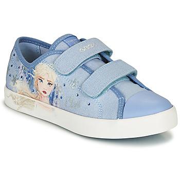 Cipők Lány Rövid szárú edzőcipők Geox JR CIAK GIRL Kék