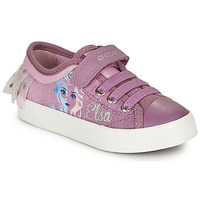 Cipők Lány Rövid szárú edzőcipők Geox JR CIAK GIRL Lila