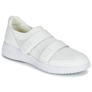 Cipők Női Rövid szárú edzőcipők Geox D NOVAE Fehér