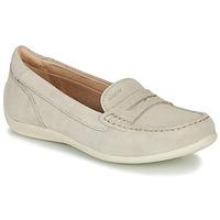 Cipők Női Mokkaszínek Geox D YUKI Bézs