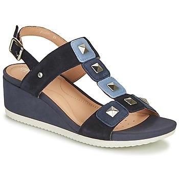 Cipők Női Szandálok / Saruk Geox D ISCHIA Kék