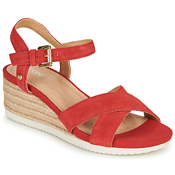 Cipők Női Szandálok / Saruk Geox D ISCHIA CORDA Piros