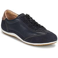 Cipők Női Rövid szárú edzőcipők Geox D VEGA Tengerész