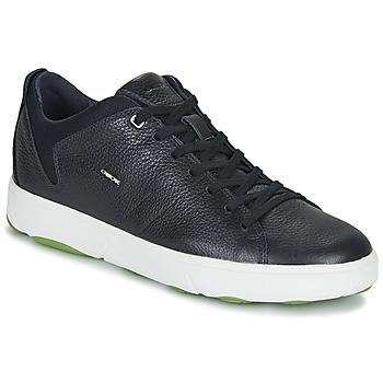 Cipők Férfi Rövid szárú edzőcipők Geox U NEBULA Y Tengerész