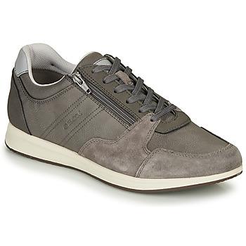 Cipők Férfi Rövid szárú edzőcipők Geox U AVERY Szürke