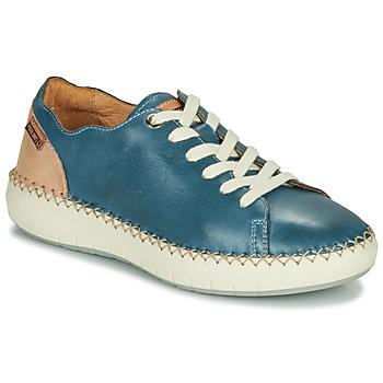 Cipők Női Rövid szárú edzőcipők Pikolinos MESINA W6B Kék / Rózsaszín