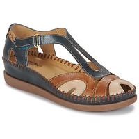 Cipők Női Szandálok / Saruk Pikolinos CADAQUES W8K Kék / Teve