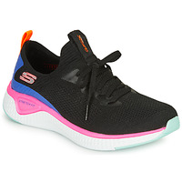 Cipők Női Fitnesz Skechers SOLAR FUSE Fekete  / Rózsaszín / Kék