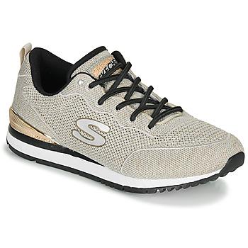 Cipők Női Rövid szárú edzőcipők Skechers SUNLITE MAGIC DUST Szürke / Arany