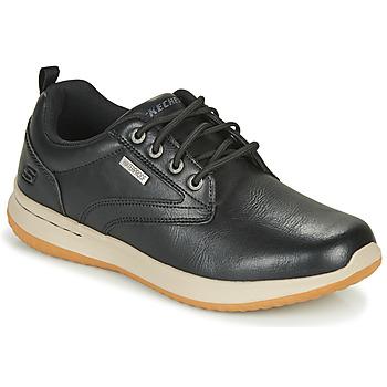 Cipők Férfi Rövid szárú edzőcipők Skechers DELSON ANTIGO Fekete