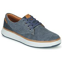 Cipők Férfi Rövid szárú edzőcipők Skechers MORENO EDERSON Kék / Barna