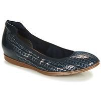 Cipők Női Balerina cipők  Tamaris JOYA Tengerész / Ezüst