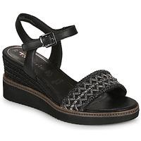 Cipők Női Szandálok / Saruk Tamaris ALIS Fekete