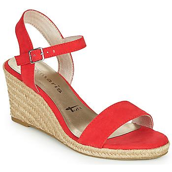 Cipők Női Szandálok / Saruk Tamaris LIVIA Piros