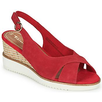 Cipők Női Szandálok / Saruk Tamaris ALIS Piros