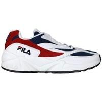 Cipők Női Rövid szárú edzőcipők Fila V94M Low Białe,Czerwone