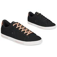 Cipők Női Rövid szárú edzőcipők Le Coq Sportif AGATE METALLIC Fekete  / Arany