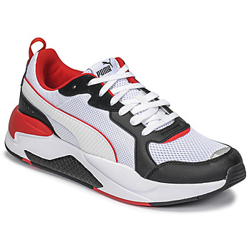 Cipők Férfi Rövid szárú edzőcipők Puma X-RAY Fehér / Fekete  / Piros