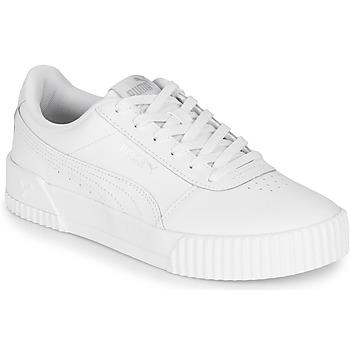 Cipők Női Rövid szárú edzőcipők Puma CARINA Fehér