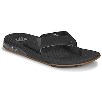 Cipők Férfi Lábujjközös papucsok Reef FANNING LOW Fekete