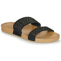 Cipők Női Lábujjközös papucsok Reef CUSHION BOUNCE VISTA Fekete