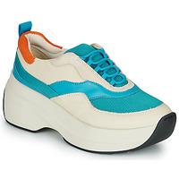 Cipők Női Rövid szárú edzőcipők Vagabond SPRINT 2.0 Bézs / Kék