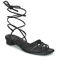 Cipők Női Szandálok / Saruk Vagabond Shoemakers ANNI Fekete