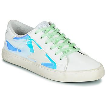 Cipők Női Rövid szárú edzőcipők Le Temps des Cerises CITY Ezüst / Lemez