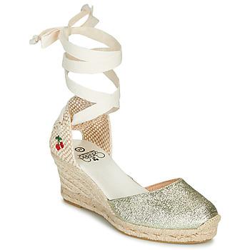 Cipők Női Szandálok / Saruk Le Temps des Cerises POLY Arany