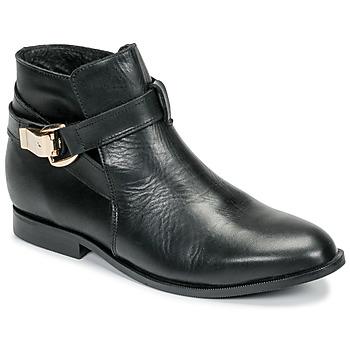 Cipők Női Csizmák Betty London DOODI Fekete