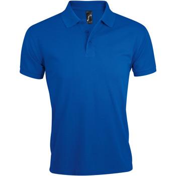 Ruhák Férfi Rövid ujjú galléros pólók Sols PRIME ELEGANT MEN Azul