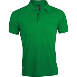 Ruhák Férfi Rövid ujjú galléros pólók Sols PRIME ELEGANT MEN Verde