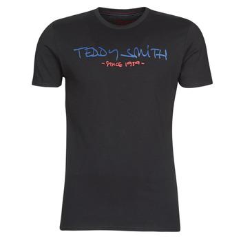 Ruhák Férfi Rövid ujjú pólók Teddy Smith TICLASS Fekete