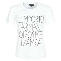 Ruhák Női Rövid ujjú pólók Emporio Armani DONOVANN Fehér