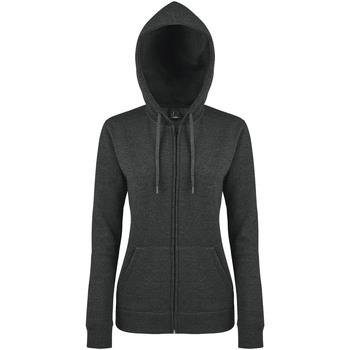 Ruhák Női Melegítő kabátok Sols SEVEN KANGAROO WOMEN Gris