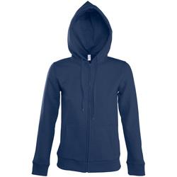 Ruhák Női Melegítő kabátok Sols SEVEN KANGAROO WOMEN Azul