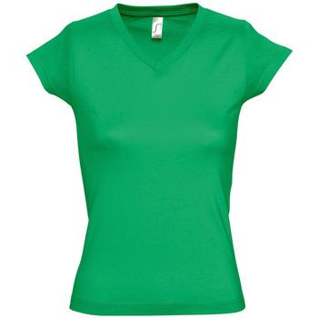 Ruhák Női Rövid ujjú pólók Sols MOON COLORS GIRL Verde